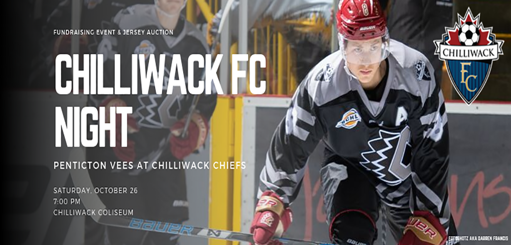 Chiefs To Host Chilliwack FC Night October 26